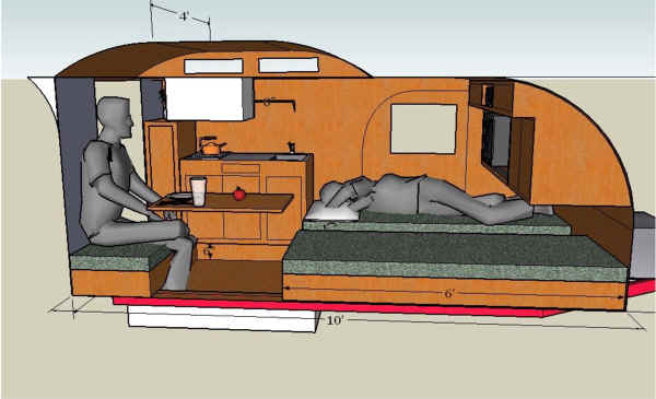 Cruiser Teardrop Trailer Clerestory