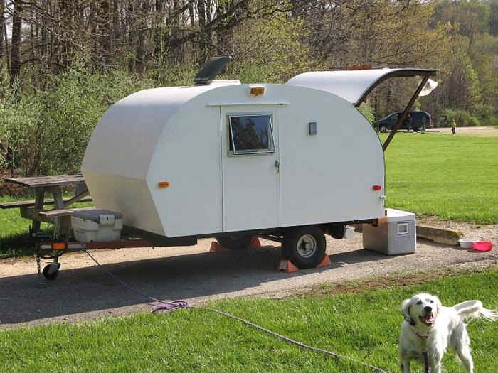 A Design and Build Journal of How I Built my Tiny Teardrop Trailer TDNellie042907