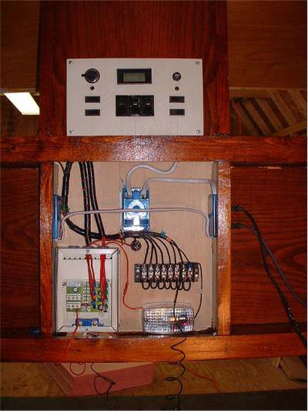 Here Is The Circuit Diagram For The Trailer And The Control Box The